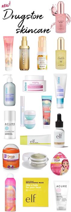 new drugstore skincare 2018