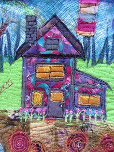 art quilt by Annie   Bohemiannieart