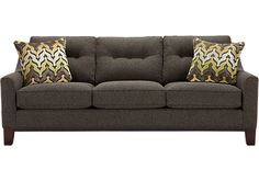 The iSofa on Roomstogo.com lets you design your own custom sofa in three easy steps: choose your style, color, and pillows. Buy it online or see it in a store near you.