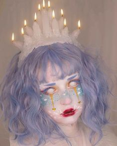 dream eater is my NYX Face Awards final entry! the theme was lucid dreams and I created a character after being inspired by the Baku Makeup Fx, Clown Makeup, Cosplay Makeup, Costume Makeup, Makeup Inspo, Makeup Inspiration, Halloween Face Makeup, Lolita Makeup, Anime Cosplay