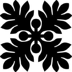 Hawaiian Quilt Tile 61 : HaoleKid