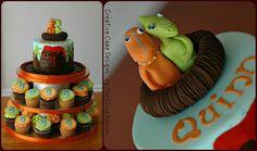 Dinosaur Train Tower by Creative Cake Designs (Christina), via Flickr