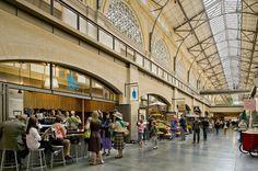 Inside Ferry Building Marketplace, San Francisco, CA