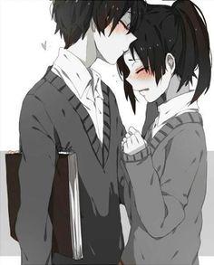 Resultado de imagen para anime boy and girl