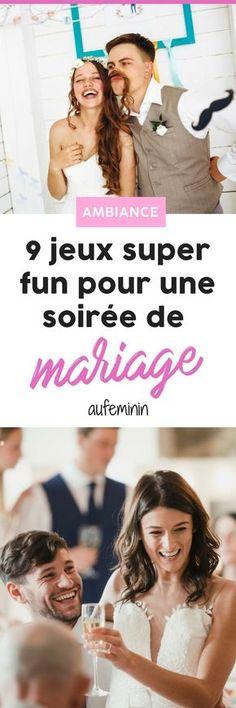 9 idées de jeux super fun pour un mariage réussi