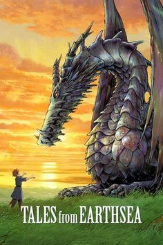 Tales from Earthsea (2006) | http://www.getgrandmovies.top/movies/21048-tales-from-earthsea | Something bizarre has come over the land. The kingdom is deteriorating. People are beginning to act strange... What's even more strange is that people are beginning to see dragons, which shouldn't enter the world of humans. Due to all these bizarre events, Ged, a wandering wizard, is investigating the cause. During his journey, he meets Prince Arren, a young distraught teenage boy. While Arren may…