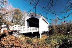 Oregon has the largest collection of covered bridges in the West and one of the largest in the nation.