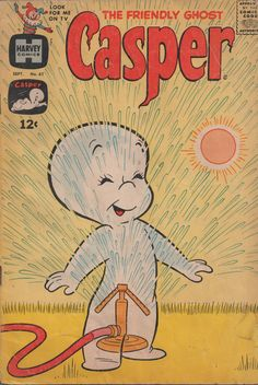 Casper the Friendly Ghost, via Etsy.