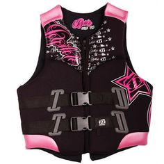 After taking swim lessons for hella years I refuse to wear a life jacket on the boat, but for a cute pink one I would make an exception :)