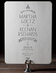 wedding invite | soirée | Pinterest