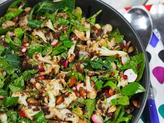 Herby Roast Cauliflower Salad
