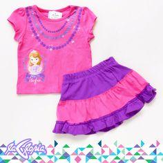 Que le pongo Hoy? #Conjunto de #Blusa y #Falda #Infantil #RecienNacidos 3er.Piso