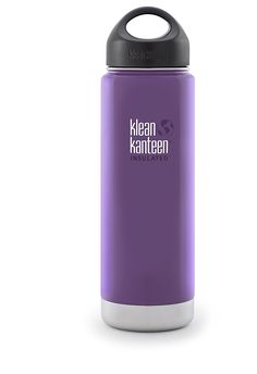 Klean Kanteen Wide Insulated Stainless Steel Bottle With Loop Cap (20-Ounce) -- This is an Amazon Affiliate link. For more information, visit image link.