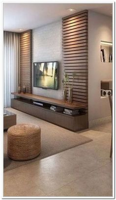 Meuble Tv Angle, Living Room Tv Unit, Living Room Decor, Living Room Designs, Be… Indian Living Rooms, Home Living Room, Living Room Decor, Living Room Sets, Tv Unit Decor, Tv Wall Decor, Living Room Tv Unit Designs, Tv Unit For Living Room, Modern Tv Wall Units