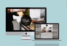 Treats.no - website redesign by Tommaso Taraschi, via Behance