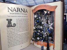 Christmas at Cadbury Garden Centre by trollpowersaab, via Flickr Up Book, Book Art, Book Crafts, Diy And Crafts, Christmas Photos, Christmas Crafts, Artistic Installation, Giant Paper Flowers, Christmas