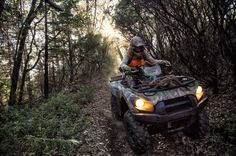 An outdoorsman needs a machine that will take him farther - Brute Force 750 4x4i Camo