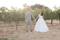 Farmhouse Chic Winery Wedding Ruffled