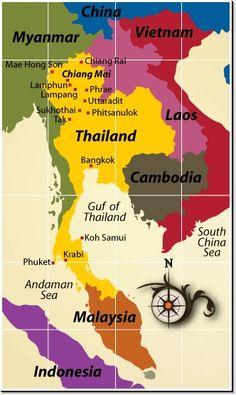 Visited Bangkok and Chiang Mai.