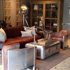 Aviator living room...my basement one day