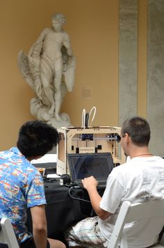 Art Bytes at the Walters Art Museum in Baltimore--a hackathon that included 3-D printing