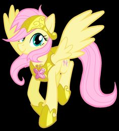 The New Royal Guardian Fluttershy by *JennieOo on deviantART