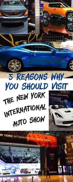 The Jersey Momma: 5 Reasons Why You Should Visit The New York International Auto Show