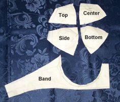 How to make bra pattern tutorial