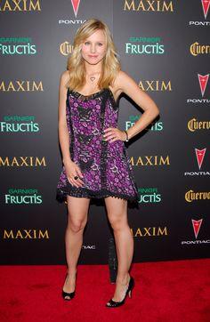 Kristen Bell Perfect Legs, Kristen Bell, Sexy Legs, Strapless Dress, Actresses, Celebrities, Hot, Beautiful, Fashion