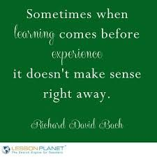 image result for quotes about education vs experience experience