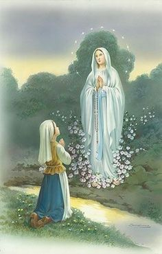 The Apparition of Our Lady of Lourdes