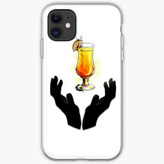 'Holy Cocktail / Praying For Drink' iPhone Case by RIVEofficial Iphone 11, Iphone Cases, Pray, Custom Design, Digital Art, Cocktails, Trends, Accessories, Shopping
