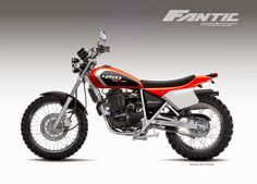 "Motosketches: FANTIC MOTOR ""TRAXTER"" 450"