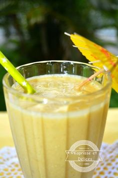 Smoothie Ananas, gingembre et cardamome | Kaprisse et Delices