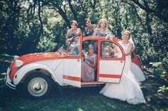Citroen 2cv Wedding Car Languedoc
