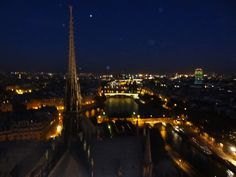 Best Spot to have bird's eye view of Paris- View of Paris City from Notre dame