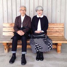 Ce couple coordonne leurs vêtements depuis 37 ans