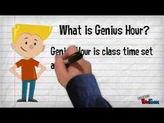 Genius Hour - My PowToon video to introduce the kiddos to Genius Hour