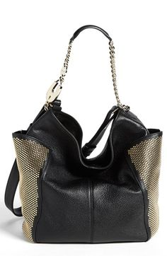 Jimmy Choo 'Anna' Studded Hobo available at #Nordstrom Love this!