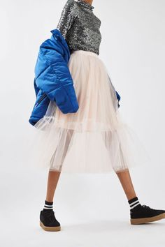 9b28bce7e24f5 Jupon en tulle   Giant Tutu Tulle Skirt New In This Week New In Topshop  Europe