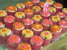 Flower Cupcakes  ventas@picota.com.mx