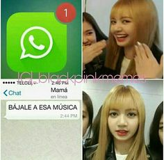 Read 1 from the story memes de blackpink by Yumiko_Kun (Patatas fritas) with reads. Memes Blackpink, Exo Memes, Funny Memes, Funny Videos, K Pop, Blackpink Funny, Really Funny Pictures, Bratayley, Spanish Memes