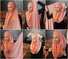 The Classic Hijab Wrap – Step By Step Tutorial