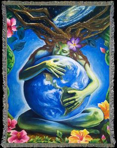 Prema Gaia - Art by Shanti Herrington *Pre-Sale Only* Please allow 2-3 weeks for delivery