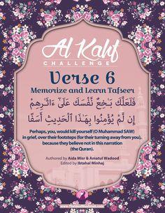 Al Kahf Challenge – Verse 6 (Memorize + Learn Tafsir) - The Ideal Muslimah Islamic Surah, Islamic Teachings, Surah Kahf, Quran Surah, Beautiful Islamic Quotes, Islamic Inspirational Quotes, Al Kahf, Ramadan Day, Noble Quran