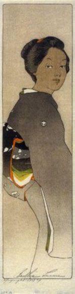 O Fuji San  by Bertha Lum, 1907