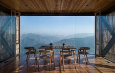 Kumaon Hotel Nestled on a Rugged Mountainside in Kasar Devi, India