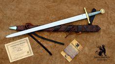 Excalibur Sword by Canadian Blacksmith & Sword manufacturer  Darksword Armory inc.  https://darksword-armory.com/