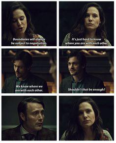 """I thought Hannibal's reaction was kinda funny:) // HANNIBAL """"Naka Choko"""""""