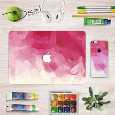 Products includes:    Macbook decal skin and iPhone skin  ------------------------------------------------------------------------------------------------  Features:  -A free spirit, Boundless Imagination, Art , Vivid Colours  -Skin decal and fits perfectly  -Easy application: easy to peel, leaving no glue marks, firmly stickly on the surface , and durable  -No leftover residue once the skin is removed  -Dust proof, Waterproof, Oilproof and surprise gifts.  -An impressive appearance,show…